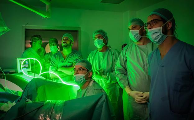 cirugía de próstata con cirugía láser